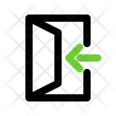 In Enter Sign Icon