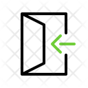 In Open Enter Icon