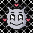 In Love Smile Love Icon
