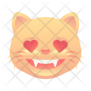 In Love Cat Icon