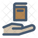 Pick Up Book Library Service Icon