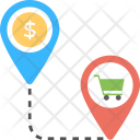 In-store Navigation Icon