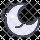Inactive Moon Night Icon