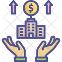 Inancial Benefit Bank Benefit Icon