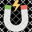 Horseshoe Shaped Magnet Icon