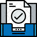 Inbox Check Mail Icon
