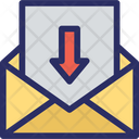 Inbox Email Incoming Mail Icon