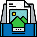 Inbox S Picture Icon