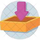 Inbox Download Arrow Icon