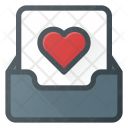Inbox Love Favorite Icon