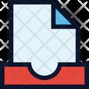 File Document Inbox Icon