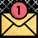 Network Communication Inbox Icon