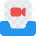 Inbox Movie Email Video Mail Video Icon