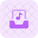 Inbox Music Email Music Mail Music Icon