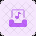 Inbox Music Icon