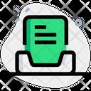 Inbox Text Icon