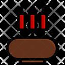 Incense Smoke Aroma Icon