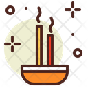 Incense Stick Incense Exercise Icon