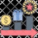 Strategy Reward Incentive Icon