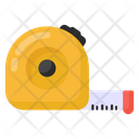 Distance Meter Inches Tape Measuring Tape Icon