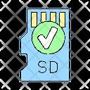 Drone Memory Card Icon
