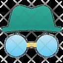 Incognito Hacker Spy Icon