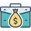 Income Earning Wages Icon