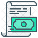Bearer Bonds Income Payment Icon