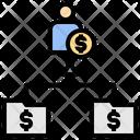 Income Commission Content Icon