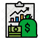 Income Growth Graph Icon
