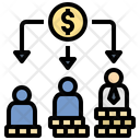 Income Allotment Distribution Icon