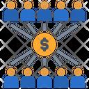 Income Distribution Funding Gdp Icon