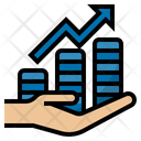 Income Increase Increase Growth Icon