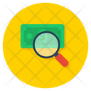 Income Inquiry Income Analysis Search Money Icon