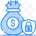 Income Protection Money Protection Finance Safety Icon