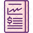 Mincome Statement Income Statement Business Agreement Icon