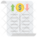 Income Statement Financial Statement Financial Report Icon