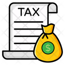 Income Tax Corporate Tax Profit Tax Icon