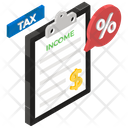 Business Tax Income Tax Tax Exemption Icon