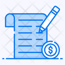 Income Tax Tax File Tax Return Icon