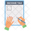 Income Tax Report Icon