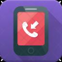 Mobile Incoming Call Icon