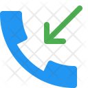 Call Received Incoming Icon