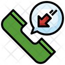 Incoming Call Phone Receiver Telephone Call Icon