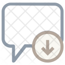 Incoming Message Icon
