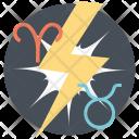 Incompatible Zodiac Signs Icon