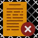 Incomplete document Icon