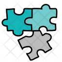 Incomplete Puzzle Pieces Icon