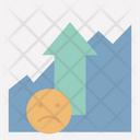 Growth Increase Presentation Icon