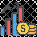 Accounting Arrow Growth Icon